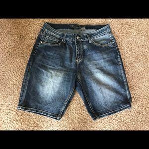 Pants - Women's Denim Bermuda Shorts Size 16!